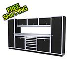 Moduline 9-Piece Aluminum Cabinet Kit (Black)