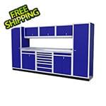 Moduline 9-Piece Aluminum Cabinet Kit (Blue)