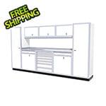 Moduline 9-Piece Aluminum Cabinet Kit (White)