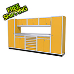 Moduline 9-Piece Aluminum Cabinet Kit (Yellow)