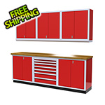 Moduline 7-Piece Aluminum Cabinet Set (Red)