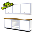 Moduline 7-Piece Aluminum Cabinet Set (White)