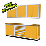 Moduline 7-Piece Aluminum Cabinet Set (Yellow)