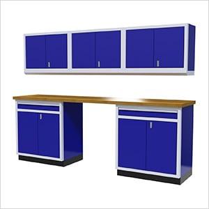 6-Piece Aluminum Cabinet Set (Blue)