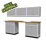 Moduline 6-Piece Aluminum Cabinet Set (Light Grey)