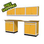 Moduline 6-Piece Aluminum Cabinet Set (Yellow)
