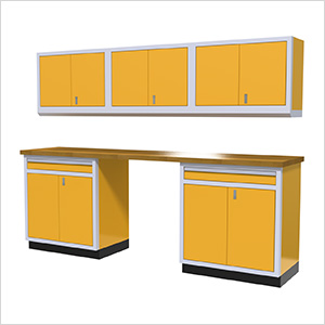 6-Piece Aluminum Cabinet Set (Yellow)