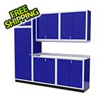 Moduline 7-Piece Aluminum Cabinet Set (Blue)