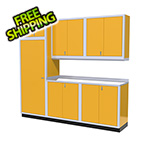 Moduline 7-Piece Aluminum Cabinet Set (Yellow)