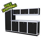 Moduline 8-Piece Aluminum Cabinet Set (Black)