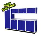 Moduline 8-Piece Aluminum Cabinet Set (Blue)