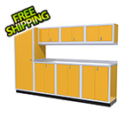 Moduline 8-Piece Aluminum Cabinet Set (Yellow)