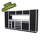 Moduline 10-Piece Aluminum Cabinet Kit (Black)