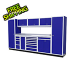 Moduline 10-Piece Aluminum Cabinet Kit (Blue)