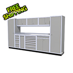 Moduline 10-Piece Aluminum Cabinet Kit (Light Grey)