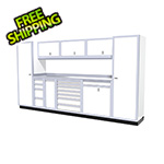 Moduline 10-Piece Aluminum Cabinet Kit (White)