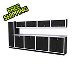 Moduline 10-Piece Aluminum Cabinet Set (Black)
