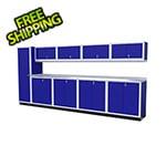 Moduline 10-Piece Aluminum Cabinet Set (Blue)
