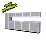 Moduline 10-Piece Aluminum Cabinet Set (Light Grey)