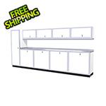 Moduline 10-Piece Aluminum Cabinet Set (White)