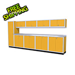 Moduline 10-Piece Aluminum Cabinet Set (Yellow)