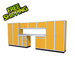 Moduline 12-Piece Aluminum Garage Cabinet Set (Yellow)
