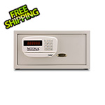 Mesa Safe Company Cream Hotel Safe with Card Swipe Feature