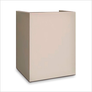 Hotel Safe Pedestal in Cream
