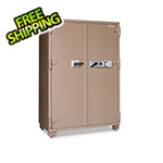 Mesa Safe Company 20.7 CF Double-Door 2-Hour Fire Safe with Combination Lock
