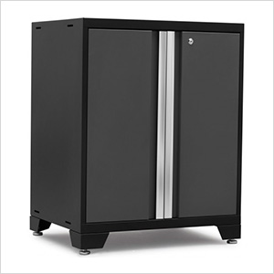PRO 3.0 Series Grey 2-Door Base Cabinet