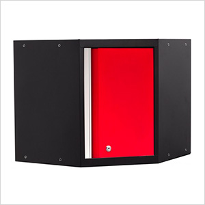 PRO 3.0 Series Red Corner Cabinet