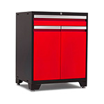 NewAge Products PRO 3.0 Series Red Multifunction Cabinet