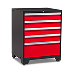 NewAge Garage Cabinets PRO 3.0 Series Red Tool Drawer