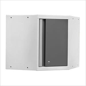 PRO 3.0 Series White Corner Cabinet