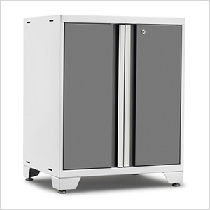 PRO 3.0 Series White 2-Door Base Cabinet