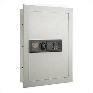 Deluxe Wall Safe with Keypad Lock