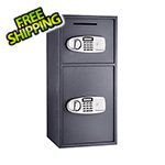 Paragon Lock and Safe SureDrop Double Depository Safe with Electronic Lock
