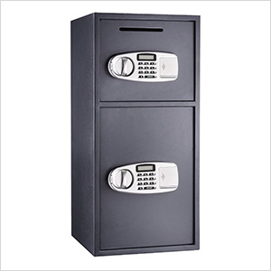 SureDrop Double Depository Safe with Electronic Lock