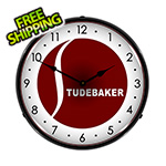 Collectable Sign and Clock Studebaker Backlit Wall Clock
