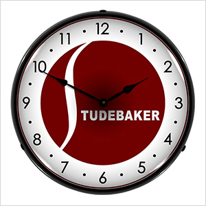 Studebaker Backlit Wall Clock