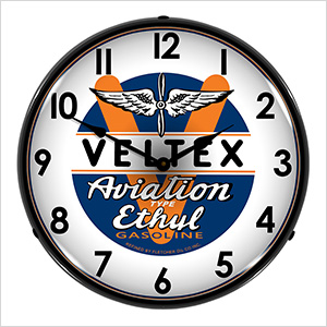 Veltex Aviation Ethul Backlit Wall Clock