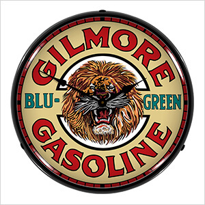 Gilmore Gasoline Backlit Wall Clock