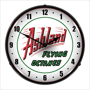 Ashland Flying Octanes Backlit Wall Clock
