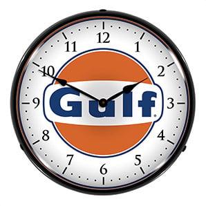 Gulf Backlit Wall Clock