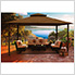 11 x 14 ft. Avalon Gazebo with Sunbrella Canopy (Cocoa Top)