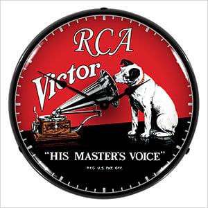 RCA Victor Backlit Wall Clock
