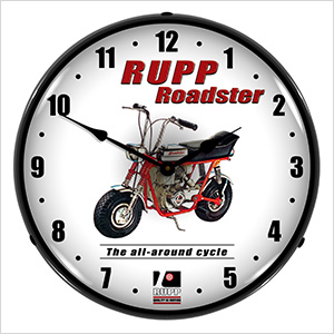 Rupp Roadster Backlit Wall Clock