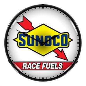 Sunoco Race Fuels Backlit Wall Clock