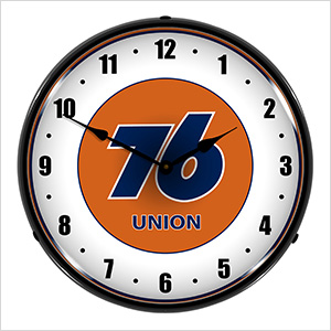 76 Union Backlit Wall Clock