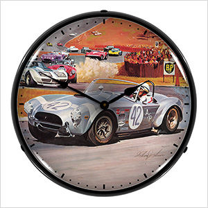 Shelby Cobra Backlit Wall Clock